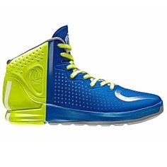 reputable site dadaf 6d356 adidas D Rose 4 Youth Basketball Shoe - Blast BlueWhite