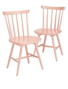 2 Dinton Coral Chairs | M&S