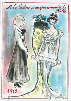 Histoires de mode par Karl Lagerfeld : 1912