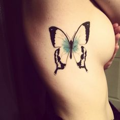 Group of: butterfly tattoo | Tumblr | We Heart It