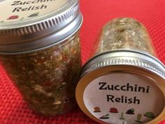Recipe for Zucchini Relish Dill Pickle Relish, Pepper Relish, Tomato Relish, Zucchini Relish Recipes, Pickled Zucchini, Freeze Zucchini, Avocado Recipes, Vegetable Recipes, Pickled Pepper Recipe