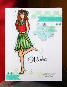 Olivia Girl - Unity Stamp Co
