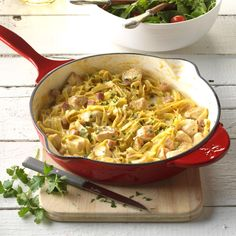 Chicken Cordon Bleu Skillet Recipe -Here's a good and hearty supper. If I have fresh mushrooms on hand, I slice them and toss them in the skillet. You could add cooked veggies like broccoli or cauliflower, too. —Sandy Harz, Spring Lake, Michigan