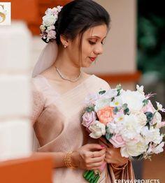 Christian Bridal Saree, Christian Bride, Saree Wedding, Wedding Dresses, Bridal Collection, Kerala, Big Day, Wedding Ideas, Jewellery