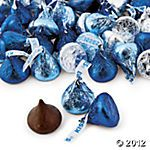 Blue & Silver Hershey's® Kisses®, Name Brand Candy, Candy, Party Themes & Events - Oriental Trading Diamonds And Denim Party, You Are My Moon, Diamond Party, Royal Baby Showers, Holiday Candy, Hershey Kisses, Blue Christmas, Christmas 2015, Something Blue