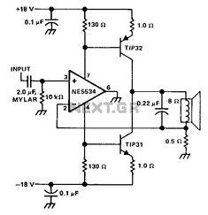 High-End Power Amplifier LME49810 2SC5200 2SA1943 in 2019