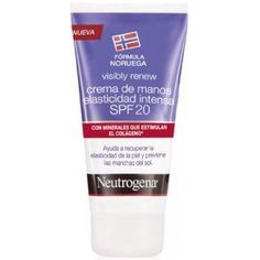 comprar VISIBLY RENEW CREMA DE MANOS ELASTICIDAD INTENSAS SPF20 75ML NEUTROGENA