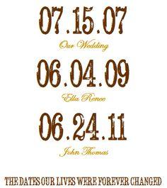 Invite and Delight: Simple Anniversary Gift