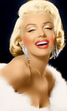 The Blonde Bombshell Beauty Marilyn Monroe.