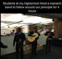 High School Prank