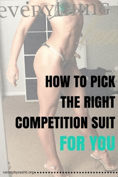 5 Tips to picking the perfect #NPCbikini suit for YOU.  So many design options to consider when selecting but the bottom line is that the suit needs to help you shine and not be too distracting.  Here are my top tips for choosing a suit that's best for you!