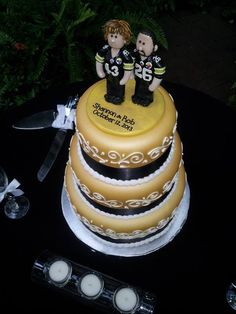 Pittsburgh steeler wedding cakes