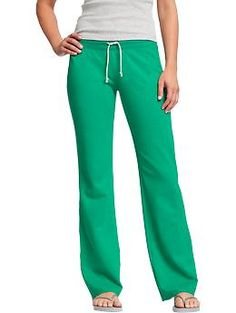 Women's Drawstring Jersey-Lounge Pants | Old Navy love this color! Size MEDIUM