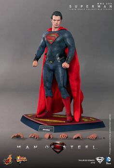HOT TOYS MAN OF STEEL COLLECTIBLE FIGURE UNVEILED AT LAST