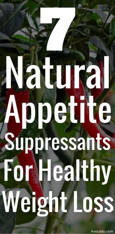 7 natural appetite suppressants for healthy weight loss | healthy living | http://avocadu.com/7-natural-appetite-suppressants-for-healthy-weight-loss/