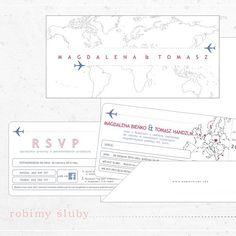 #projekt #zaproszenia #podróże #świat #samoloty #bilety #ślubne #weddinginvitations #weddinginspiration #weddingfavor #fly #travel #weddingcards #rsvpcard #robimyśluby
