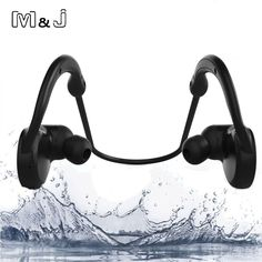 M&J M11 IPX7 Waterproof Wireless Bluetooth Headset Stereo Sport Swim Earphone With Microphone for iPhone Samsung Xiaomi Bathe