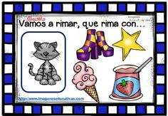 Rimas infantiles, que rima con.. (10) Finger Plays, Blended Learning, Spanish Language, Reggio, Pre School, Special Education, Classroom, Teacher, How To Plan