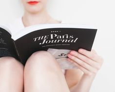 The Paris Journal, Signed Copies, By Evan Robertson and Nichole Robertson