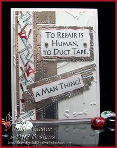 A Man Thing by justwritedesigns - Cards and Paper Crafts at Splitcoaststampers Bday Cards, Birthday Cards For Men, Handmade Birthday Cards, Cards For Men Handmade, Graduation Cards, Men Birthday, Masculine Birthday Cards, Masculine Cards, Scrapbook Cards
