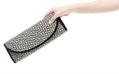 Aliexpress.com : Buy H1504 ZZ RAFFIA CLUTCH Neo Baroque checkered envelope bag Evening Bag black white Clutch Free shipping dropshipping M13 from Reliable envelope bag suppliers on TTM  $20.00