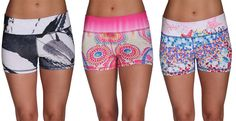Browse our collection of limited edition Fitness and & Yoga Shorts at www.lunajai.com