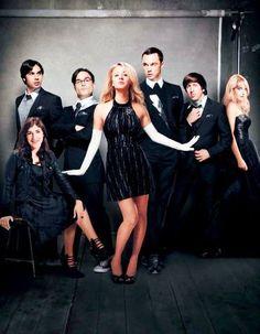 The Big Bang Theory. Penny, Sheldon, Amy, Wolowitz, Bernadette, Raj, Leonard. #TBBT