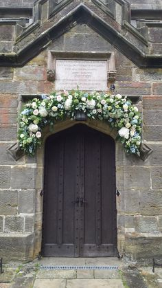 Floral arch could be created around lych gate Mary John, Wedding Ceremony Decorations, Wedding Ideas, Floral Arch, Classic Style, Arches, Camilla, Claire, Gate