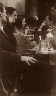 1920's Paris Cafe Scene