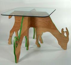 Deer Table. $150.00, via Etsy.