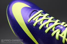 Nike Football Boots - Nike Mercurial Vapor IX FG - Firm Ground - Football Cleats - Electro Purple-Volt