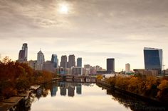 This always seems to be the vantage point for photographs of the Philadelphia Skyline, but regardless, it makes for a beautiful shot as the water leads you right into the city almost as if it were a walkway into the streets of Philadelphia.