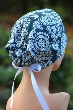 The MINI Scrub Hat Chemo Cap by thehatcottage on Etsy, $15.50
