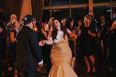 Fun first dance :: Atlantic One, Atlantic City, NJ :: Contigo Photography ::