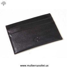 Mulberry Mens Wallet Black On Sale