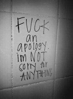 Bold Statements | Fuck Apologies | No Regrets | Sorry Not Sorry