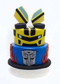 5th Birthday Cake, Boy Birthday, Birthday Ideas, Rescue Bots Cake, Kendall Birthday, Transformers Birthday Parties, Luau Cakes, Lincoln Birthday, Transformer Birthday