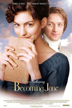 The year is 1795 and young Jane Austen (Anne Hathaway) is a feisty twenty-year-old and emerging writer who already sees a world beyond class and comme Great Movies To Watch, Movie To Watch List, Tv Series To Watch, Movie List, Series Movies, Movie Tv, Netflix Movies, Movies Online, Period Drama Movies