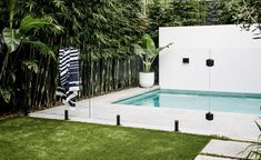 Coogee Backyard Pool Landscaping, Swimming Pools Backyard, Pool Decks, Small Backyard Design, Backyard Pool Designs, Pools For Small Yards, Garden Landscape Design, Landscape Architecture, Miami Houses