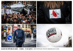 Reportage :: La marche Républicaine du 11 Janvier 2015 à Paris ©adelap