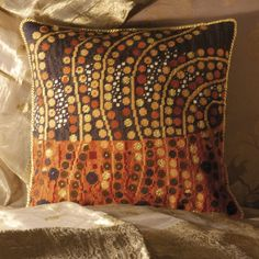 From artist Candace Bahouth - get this and many more Klimt-type designs at Ehrman Tapestry site...