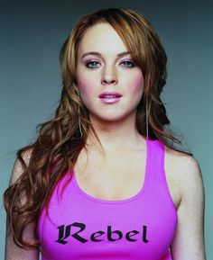 Lindsay Lohan July 2,1986 The Parent Trap, Freaky Friday, Mean Girls