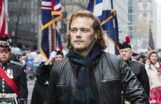 HQ Pics of Sam Heughan as Grand Marshal at the NY Tartan Parade   Outlander…