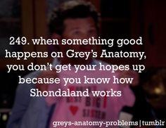 Grey's Anatomy Problems<<<so true 😑 Greys Anatomy Funny, Greys Anatomy Facts, Grays Anatomy Tv, Grey Anatomy Quotes, Dark And Twisty, Grey Stuff, Medical Drama, Youre My Person, Meredith Grey