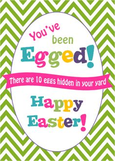 picture about You've Been Egged Printable known as Pinterest