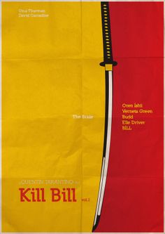 Quentin Tarantino Minimals by Chathuranga Neminda, via Behance