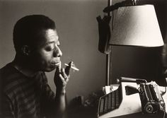 James Baldwin by his typewriter, Istanbul 1966. (Sedat Pakay—Collection of the Smithsonian National Museum of African American History and Culture, © Sedat Pakay)  9 Iconic Photographs from African American History