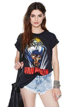 Van Halen '86 Tour Tee | Shop What's New at Nasty Gal