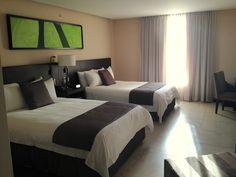 hotel room at studio hotel, san jose, costa rica