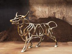 Richard Texier Artist Sculpture Bull 04 300x202x100cm - 2015_1